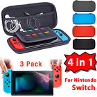 Case For Nintendo Switch EVA Hard Protective Carrying Bag Screen Protector Film