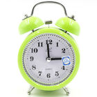 Vintage Retro Loud Double Bells Mechanical Quartz Keywound Alarm Clocks Travel