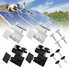 360° Weatherproof Gutter Mount Bracket for Ring Spotlight Solar Panel w/Screw US