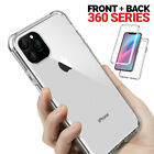 Shock Proof Full Body Clear Cover Case For Apple iPhone X/XR/XS/11Pro/11 Pro Max