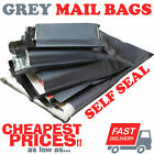 GREY Strong Postal Post Packaging Bags Plastic Parcel Mailing Packing Envelopes