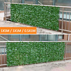 Au Artificial Hedge Leaves Faux Ivy Leaf Privacy Fence Screen Home Garden Decor