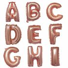 """1 Rose Gold 16"""" LETTER Festive Mylar Foil Balloon Party Birthday Decorations"""