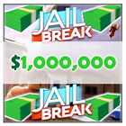 Roblox Jailbreak -- 100K, 250K, 500K, 1MIL -- Money, Cash, Dollars