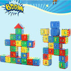 Building Blocks for Educational Toddlers Present DIY City House Castle