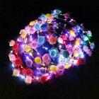 Led Light Up Flower Headband Hair Wreath Garlands For Wedding Part D3f3 Fes U7o1