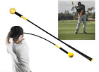 Golf Swing Trainer Indoor Practice Stick Club Strength Tempo Training Aid Tool