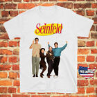 Seinfeld 90s Comedy TV Show Men's White T-Shirt Size S to 3XL New Free Shipping image