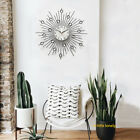 Pointer Wall Clock Home Iron Wire Decorative Low Noise Accurate Durable Hanging