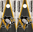 Pittsburgh Penguins Cornhole Wrap NHL Vintage Game Skin Set Vinyl Decal CO260 $39.95 USD on eBay