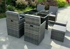 Eton Cube Rattan Garden Furniture Set Chairs Sofa Table Outdoor Patio 8 Seater