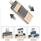 USB Flash Thumb Drive Memory Photo Stick For iPhone Android PC OTG 64/256/512 GB