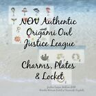 NEW Authentic Origami Owl Justice League Charms, Large Plates Or Medium Locket image
