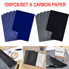 Kyпить 100Pcs Carbon Transfer Graphite Paper Tracing Drawing Canvas Art Wood Craft US на еВаy.соm