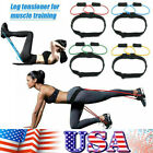 Resistance Band Fitness Tube Butt Booty Strength Belt Workout Muscle Training US image
