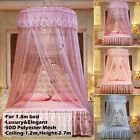 Ceiling-Mounted Mosquito Home Dome Foldable Bed Canopy Princess Queen King Size image
