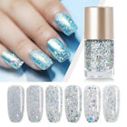 9ml NICOLE DIARY Nail Polish  Holographicssss Silver Oil Based Nail Art Varnish