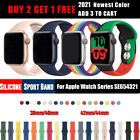 2020 NEW Colors Silicone Sports Band iWatch Strap for Apple Watch Series 5 4 3 2 image