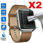 2x Tempered Glass Watch Screen Protector For Fitbit Surge Ionic Blaze Inspire HR