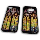 Banksy Church Window Graffiti Wall Stained Glass Rubber Tpu Phone Case Cover