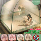 Folding Freestand Bed Canopy Mosquito Net Tent Screen For King Queen Bed 1.8×2M image