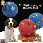 Pet Dog Puzzle Funny Treat Food Ball Mental Dispenser Interactive Play Toys