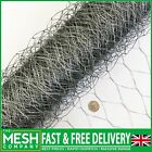 Bargain Chicken Wire Netting Mesh Net Rabbit Aviary Fence Pet 5m & 10m Roll  <br/> ✔ Best Quality ✔ Best Price ✔ Rapid Dispatch ✔ UK Stock