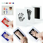 Non-Toxic Baby Handprint Kit Inkless Wipe Hand and Foot Print Pad Clay Keepsake
