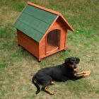 Wooden Dog Kennel Comfort Big Outdoor House Waterproof Roof Small Medium Large