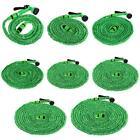 25-200FT Expanding Flexible Expandable Garden Water Hose Pipe+Spray Nozzle K N10
