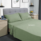 Bed Sheet Set, 3 Piece, Twin XL Set Sheets, Deep Pocket, Ultra Soft 1800 Count image