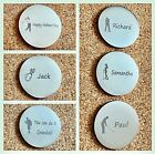 Personalised Golf Ball Marker Name Or Message Engraved Keepsake Fathers Day Gift