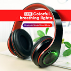 New Wireless 5.0 Bluetooth Earphone Stereo Earbuds Headphone For Samsung iPhone