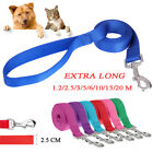 Dog Lead - Strong Nylon Rope Walking Leash Durable Outdoor Training Pet Leads