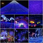 100LEDs Garden Tree Light Meteor Xmas Decors Shower Star String Outdoor Party US