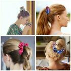New Women Girls Colorful Hair Band Rope Ring Elastic R1y6 Hairband Holder H0h6