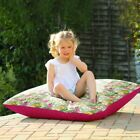 Large Tropical Birds Floor Cushion - Use Indoor Or Outside In Garden