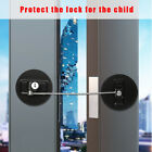 Window Finger Protector Cabinet Lock With-Key Door Stopper Baby Safety Lock