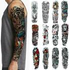 Full Arm Stickers Full Arm Waterproof Temporary Arm Stickers I8Z6