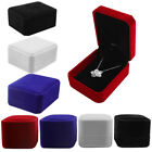 Kyпить 1/5/10 Pk Velvet Earring Ring Necklace Jewelry Gift Boxes Case Box Wedding  на еВаy.соm