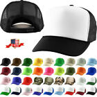 Classic Trucker Foam Front Mesh Back Snapback Adjustable Baseball Cap