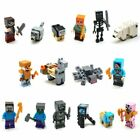 Minecraft Minifigure Set Compatible Lego's For Gift Toys Free Shipping