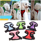 Mesh Padded Soft Puppy Pet Dog Harness Breathable Comfortable Many Colors XS-XL