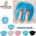 Portable Home Foot Tub Spa Soaking Bath Basin With Massage Dots Feet Relaxer Bin