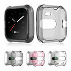 Silicone Protective TPU Shell Case Protector Frame Cover for Fitbit Versa Lite
