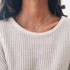 Lovely Star Pendant 925 Sterling Silver Necklace Chain Women's Jewellery Uk