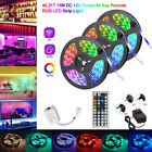 15M/10M/5M RGB 300LEDs 3528 LED Strip Light SMD 44Key Remote 12V Power Kit