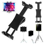 "Tablet Tripod Mount Clamp Holder Bracket 1/4"" Thread Adapter For iPad Air iPhone"