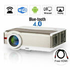 Android Proyector 1080P Blue-tooth Wifi Cinema Airplay Backyard Online YouTube