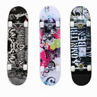 """Pro Skateboard 7 Layers Decks 31""""x8"""" Complete Skate Board for Adult/Teenager US image"""